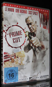 DVD PRIME CUT - DIE PROFESSIONALS REMAST. GENE HACKMAN LEE MARVIN SISSY SPACEK