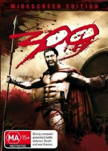 300 DVD Widescreen Edition - SAME / NEXT DAY POSTAGE FROM SYDNEY