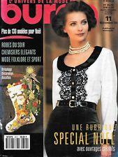 Magazine BURDA 9311 - 130 modèles à coudre - Avec encarts patrons - Vintage 1993
