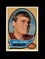 1970 Topps Football #14 Mike Haffner RC (Broncos) NM