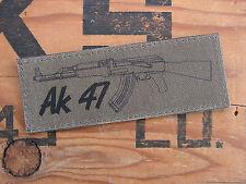 Snake Patch - AK 47 - kalash RUSSIE kalaschnikov RUSSIA OD tir Basse visibilité