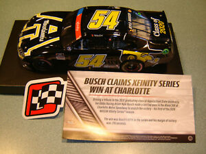 Kyle Busch #54 APPALACHIAN STATE CHARLOTTE RACED WIN 2020 TOYOTA 1/24 Action