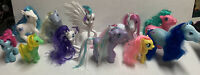 Mixed Lot 10 Vintage Gen 1 Generation  1 And Other My Little Ponies