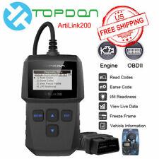 OBD2 CANBUS Scanner Diagnostic Tool Car Engine Fault Code Reader I/M Readiness