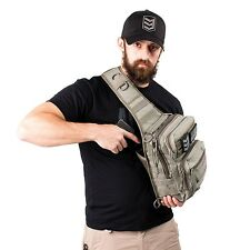 Tactical Advanced Sling Olive Backpack For Carry Concealed Gun Bag Ship In USA