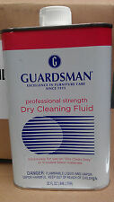 NEW Very hard to find 32 OZ Guardsman Dry Cleaning Fluid Professional Strength