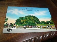 Old Postcard 1953 Ogden Utah Arcadia Motel US 30S 89 91