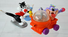 Loony Tunes  FAST FOOD Premium TOYS Sylvester and Tas.
