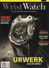 WRIST WATCH Issue 11 January 2015 SIHH Geneva URWERK Thierry Stern Nomos