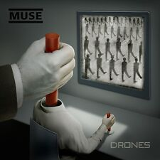 CD + DVD Set Drones - Muse Sealed ! New ! 2015 !
