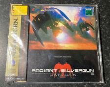 Sega Saturn Radiant Silvergun  NTSC Jap L@@K Mint Complete With Spine