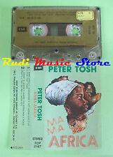 MC PETER TOSH Mama africa turkish EMI TCP 2167 no cd lp dvd vhs