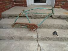 "PRE WAR HAWTHRONE FRAME & PARTS BOYS/MEN 26"" BALLOONER REPAINTED/DIRTY/GOOD"