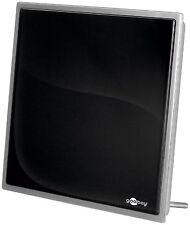 DVB-T Flat Antenne mit 30db Verstärker (Quadrat)  #c595