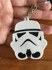 Star wars white head pendant key chain key chains manga key chains anime cool