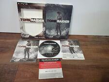 Tomb Raider - Sony PlayStation 3 - Steelbook Edition - Cib - Free Shipping!