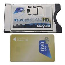 Tivusat HD Smarcam KIT inkl. AKTIVE Smart Karte Rai Mediaset aktiviert CI+ Modul