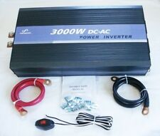 3000W 12V Pure Sine Wave Power Inverter with Remote Control & USB Connection
