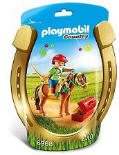 playmobil COUNTRY Et° 6968 Poney de bijoux BLÜMCHEN Cheval avec Cavalière