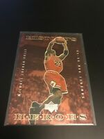 1999-00 UPPER DECK NBA LEGENDS HISTORY'S HEROES HH1 MICHAEL JORDAN CHICAGO BULLS