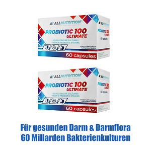 Probiotika 120 - 180 Kapseln 60 Mrd. Darmbakterien Probiotikum Darmflora Darmkur