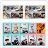 10pcs Kpop Stray Kids Card Stickers Photocards Bang Chan Felix Clé 1 : MIROH UK