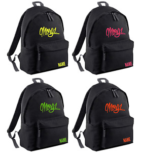 Youth kids MORGZ INSPIRED gym school backpack INSPIRED MERCH PERSONALISED FREE