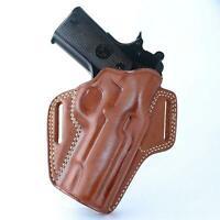 Uberti Cattleman 1873 45 Colt 4''BBL #1839# Leather OWB Paddel Holster for