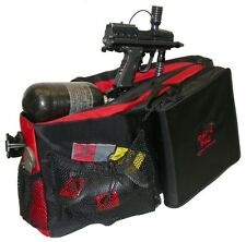 Ratco Rat1000Rd Rat's Pac Paintball Gear Bag Black/Red