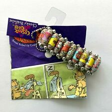 Garfield the Cat Chunky Bracelet with Comic Pouch Collectible Stretches
