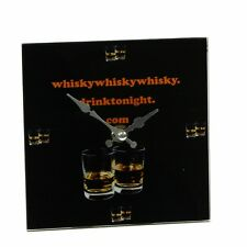 Whiskey Design Small Wall Fun Novelty Design Time Drinks Bar Home 142-660