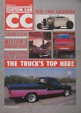Custom Car magazine February 1987