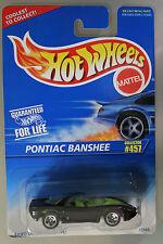 Hot Wheels 1:64 Scale 1996 Series PONTIAC BANSHEE (5 SPOKES)