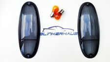 VW PORSCHE 914-4 914-6 916 GT SMOKED BLACK TURN SIGNALS LENSES LIGHTS
