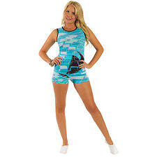 Thor Disco Lady Short Pajama, Blue, Size:Small
