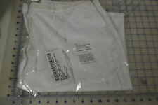slacks womens with side pockets polyester white 3006 20MR military USN USA