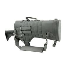 NcStar CVRSCB2919U GRAY Rifle/Carbine Over Shoulder Modular MOLLE Gun Scabbard