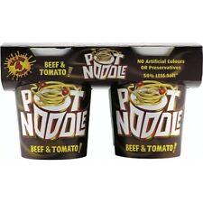 Pot Noodle Beef & Tomato Flavour (4x90g)