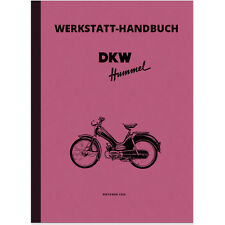 DKW Hummel 1 Moped Reparaturanleitung Werkstatthandbuch Repair Manual Montage