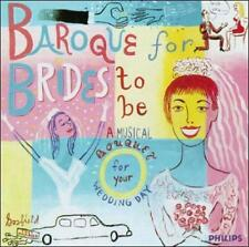 Baroque For Brides To Be: A Musical Bouquet for Your Wedding Day (CD, Apr-1997,