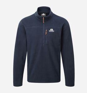 Mountain Equipment Micro Zip T-Shirt Men Lightweight Fleece Pullover for Cosmos