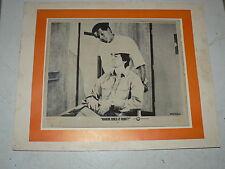 "Vintage "" Where Does It Hurt "" Movie Lobby Card 1972 Cinerama"