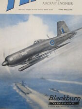 10/1945 PUB BLACKBURN AIRCRAFT FIREBRAND HMS CARRIER ROYAL NAVY TORPEDO COVER AD