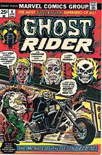 Ghost Rider Comic Book #6, Marvel Comics 1974 NEAR MINT