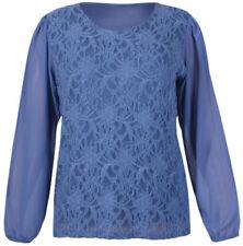 Camisas y tops de mujer de color principal azul Talla 42
