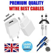 European Mains Wall Travel USB Charger 2 Pin EU Plug For iPhone  Samsung 2A 5V