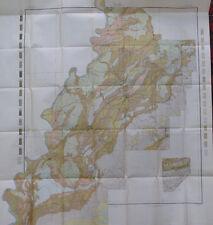 Folded Color Soil Survey Map Talladega County Alabama Lincoln Sylacanga 1907
