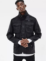 G-star Raw Rovic Overshirt Black Mens Size UK XS *REF57