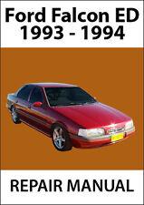 FORD FALCON ED Series REPAIR MANUAL: 1988-1991
