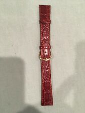 Leather watchband size 20--never used